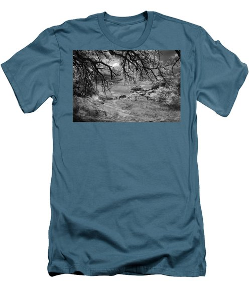 Overhanging Branches Men's T-Shirt (Slim Fit) by Michael McGowan