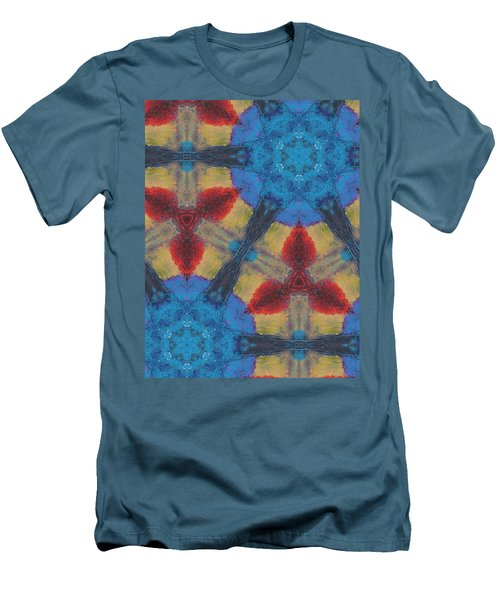 Owl Dream Catcher Men's T-Shirt (Slim Fit) by Maria Watt