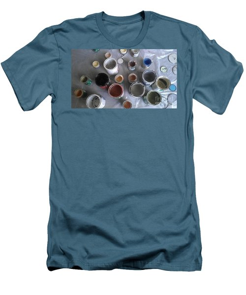 Men's T-Shirt (Slim Fit) featuring the photograph Paint by Chris Tarpening