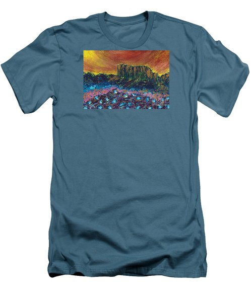 Painted Desert Men's T-Shirt (Athletic Fit)