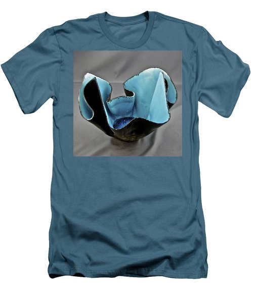Paper-thin Bowl  09-003 Men's T-Shirt (Slim Fit) by Mario Perron