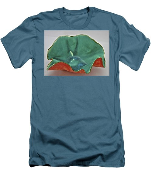 Paper-thin Bowl  09-007 Men's T-Shirt (Slim Fit) by Mario Perron