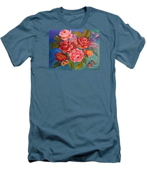 Parade Of Roses 11 Men's T-Shirt (Athletic Fit)