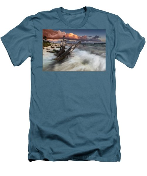 Men's T-Shirt (Slim Fit) featuring the photograph Paradise Lost by Mihai Andritoiu