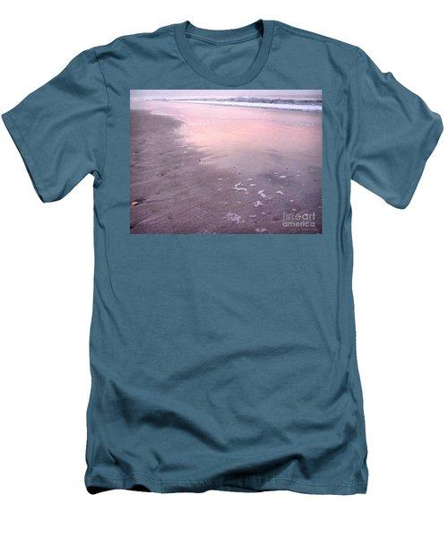Pastel Beach Men's T-Shirt (Athletic Fit)