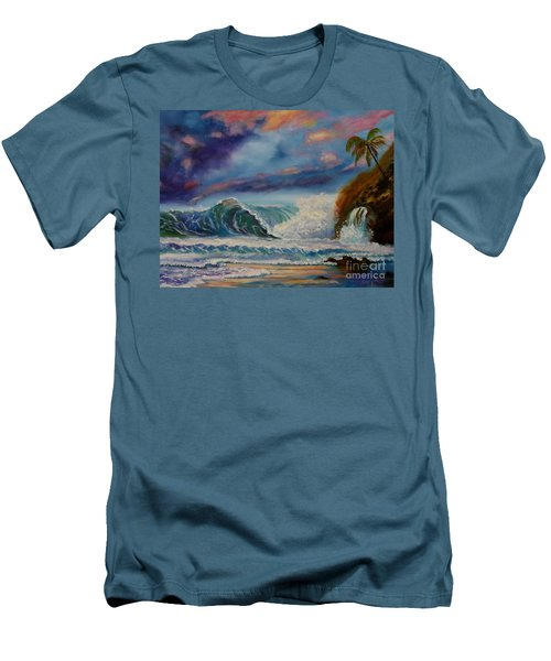 Pastel Sunset Men's T-Shirt (Athletic Fit)