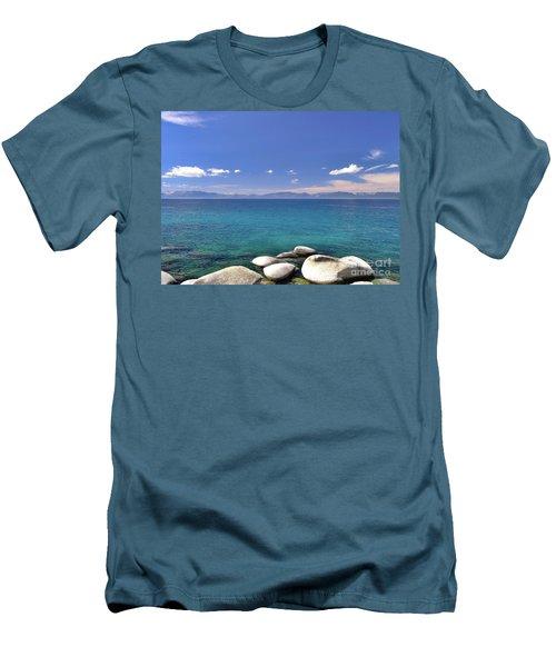 Peace - Lake Tahoe Men's T-Shirt (Athletic Fit)