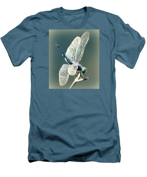 Peaceful Pause Men's T-Shirt (Slim Fit) by Melanie Lankford Photography