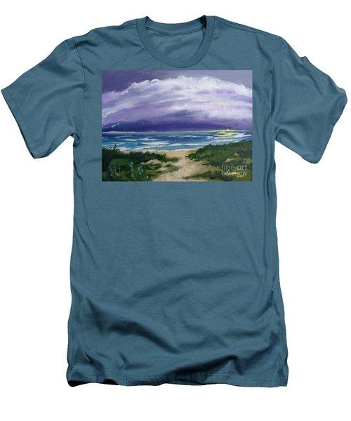 Peaceful Sunrise Men's T-Shirt (Slim Fit)
