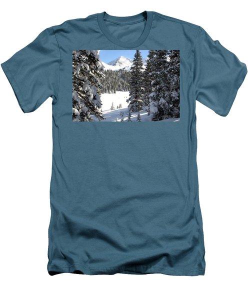 Peak Peek Men's T-Shirt (Athletic Fit)