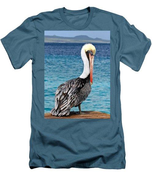 Pelican Portrait Men's T-Shirt (Athletic Fit)