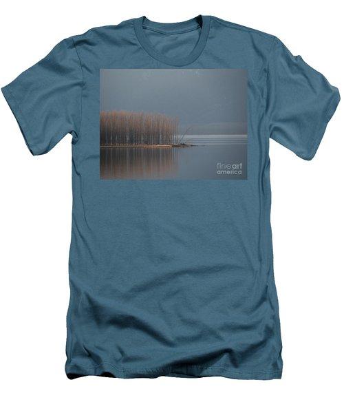 Peninsula Of Trees Men's T-Shirt (Athletic Fit)