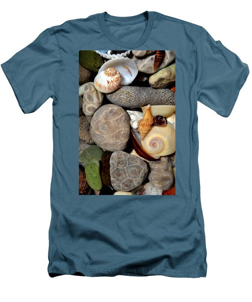 Petoskey Stones Ll Men's T-Shirt (Athletic Fit)