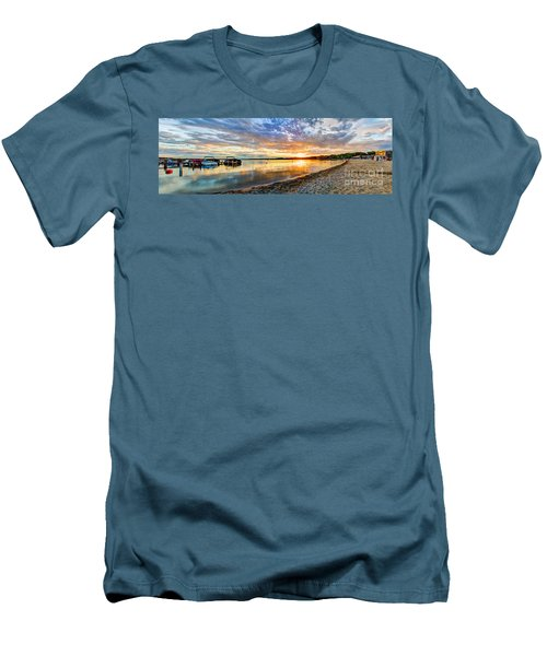 Pewaukee Vibrant Evening  Men's T-Shirt (Athletic Fit)