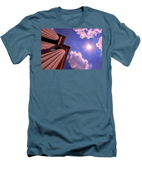 Pillars In The Sun Men's T-Shirt (Slim Fit) by Matt Harang