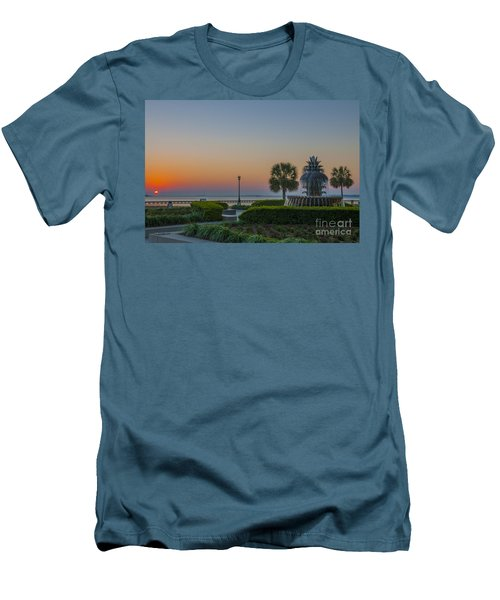 Men's T-Shirt (Slim Fit) featuring the photograph Dawns Light by Dale Powell