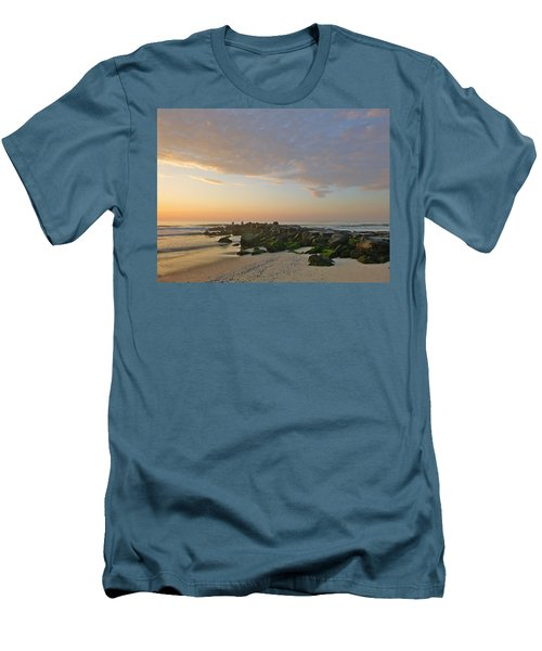 Pink Morning 2 Men's T-Shirt (Slim Fit)