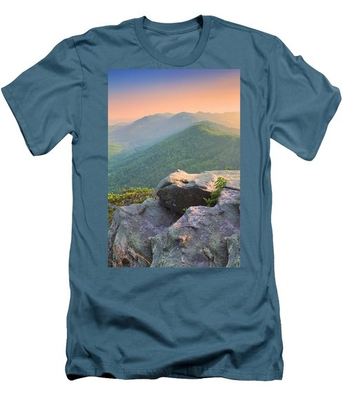 Pinnacle Rock Men's T-Shirt (Athletic Fit)