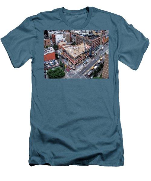 Placing Concrete Forms Men's T-Shirt (Athletic Fit)