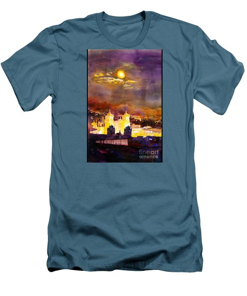 Plaza De Armas- Cusco Men's T-Shirt (Slim Fit) by Ryan Fox