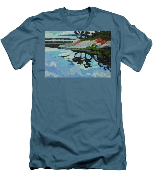 Point Paradise Men's T-Shirt (Slim Fit) by Phil Chadwick