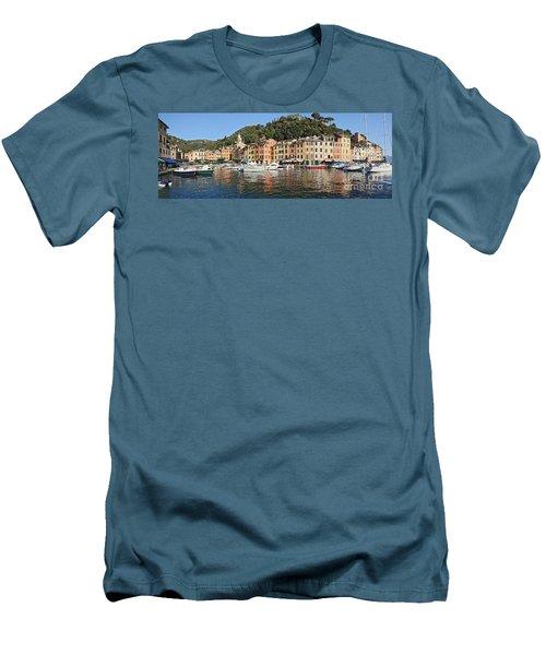 Men's T-Shirt (Slim Fit) featuring the photograph Porttofino - Italy by Antonio Scarpi