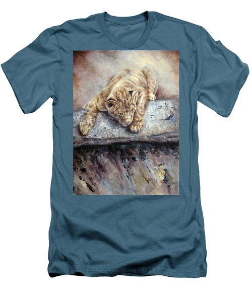 Pounce Men's T-Shirt (Athletic Fit)