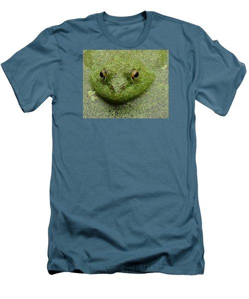 Men's T-Shirt (Slim Fit) featuring the digital art Predator by I'ina Van Lawick