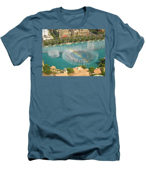 Men's T-Shirt (Slim Fit) featuring the photograph Promise by Angela J Wright