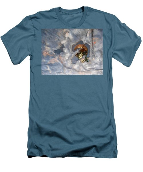 Puddle Of Sunsphere Men's T-Shirt (Athletic Fit)