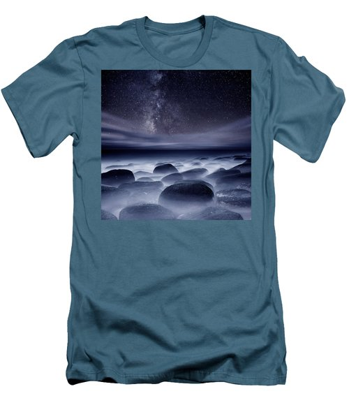 Quest For The Unknown Men's T-Shirt (Slim Fit) by Jorge Maia