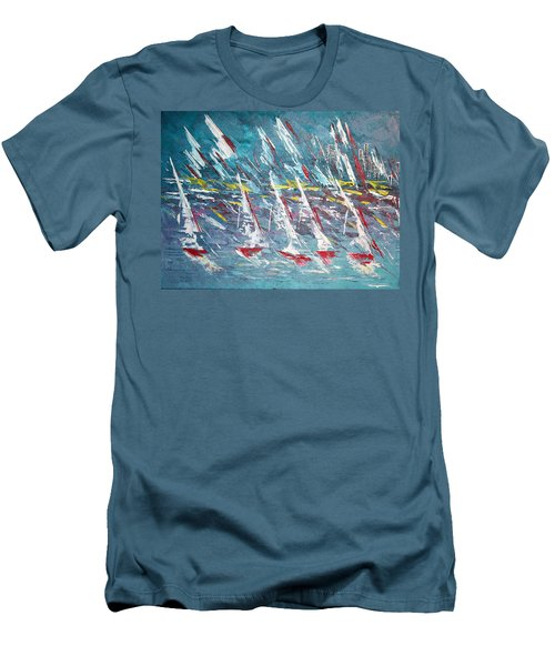 Racing To The Limits - Sold Men's T-Shirt (Athletic Fit)