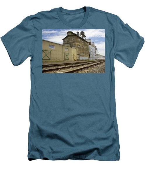 Railway Mill Men's T-Shirt (Slim Fit) by Sonya Lang