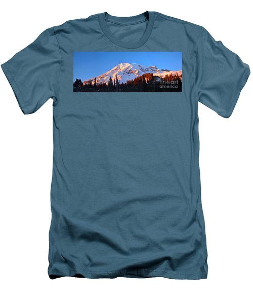 Rainier Sunset Men's T-Shirt (Athletic Fit)