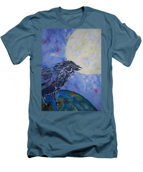 Raven Speak Men's T-Shirt (Slim Fit) by Ellen Levinson