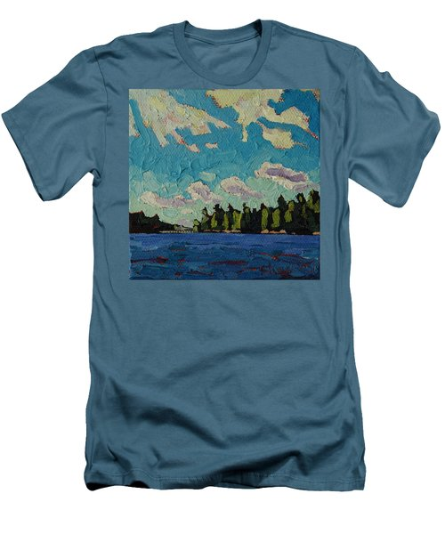 Reach To Grippen Men's T-Shirt (Slim Fit) by Phil Chadwick