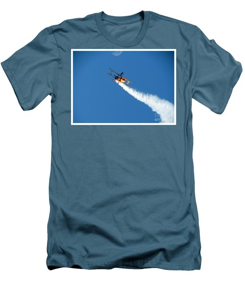 Reaching For The Moon. Oshkosh 2012. Postcard Border. Men's T-Shirt (Athletic Fit)