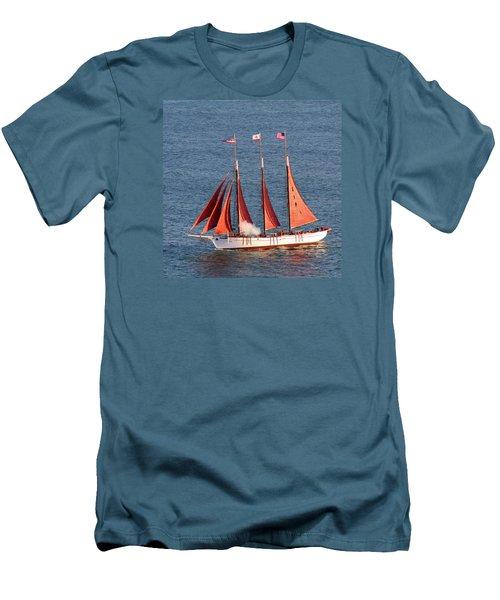 Red Sails Men's T-Shirt (Athletic Fit)