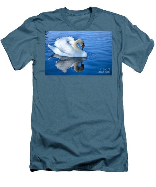 Reflecting Men's T-Shirt (Slim Fit) by Deb Halloran