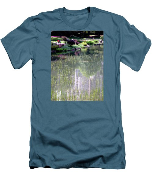 Reflection And Movement Men's T-Shirt (Athletic Fit)