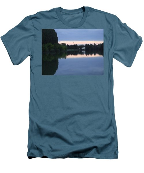 Reflections On La Saone Men's T-Shirt (Athletic Fit)