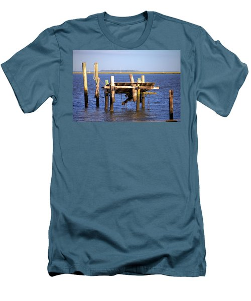 Men's T-Shirt (Slim Fit) featuring the photograph Remnants by Gordon Elwell