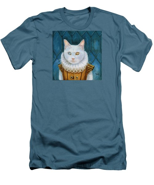 Renaissance Cat Men's T-Shirt (Athletic Fit)