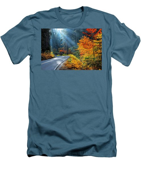 Road To Glory  Men's T-Shirt (Slim Fit) by Lynn Bauer