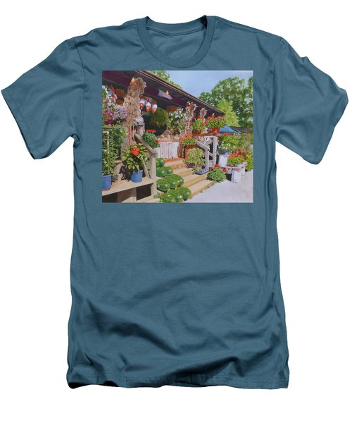 Roadside Stand Men's T-Shirt (Athletic Fit)