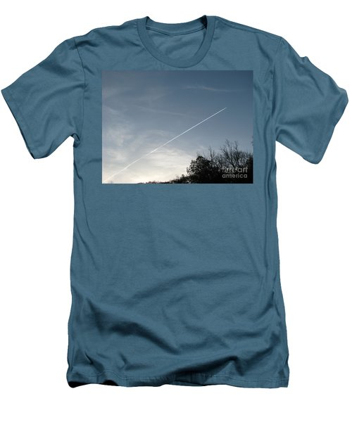 Men's T-Shirt (Slim Fit) featuring the photograph Rocket To The Stars by Michael Krek