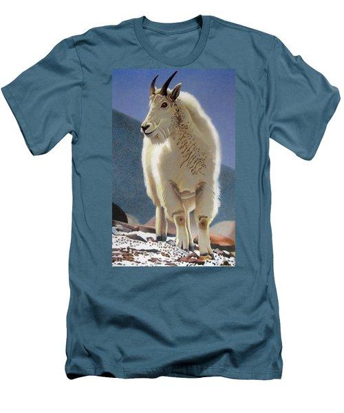 Rocky Mountain Goat Men's T-Shirt (Athletic Fit)