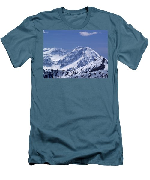 Rocky Mountain High Men's T-Shirt (Slim Fit) by Bill Gallagher