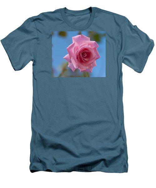 Roses In The Sky Men's T-Shirt (Slim Fit) by Miguel Winterpacht