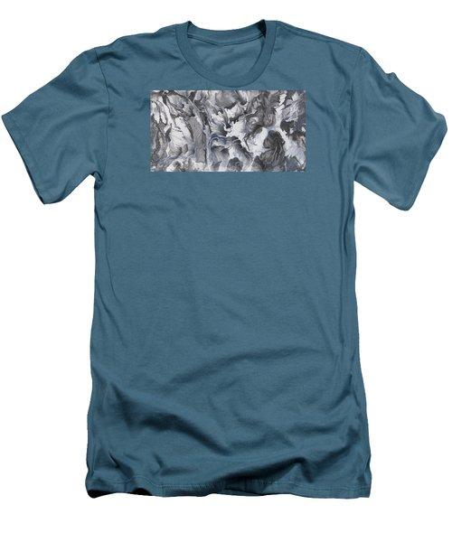 sac be III Men's T-Shirt (Slim Fit) by Angel Ortiz